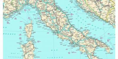 Karta Na Italiya Karta Na Italiya Yuzhna Evropa Evropa